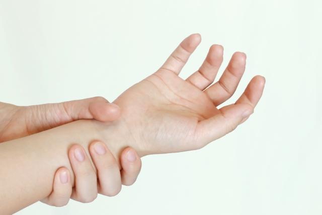 手の腱鞘炎