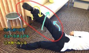 X脚トレーニング